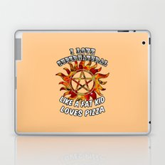 I Love Supernatural Laptop & iPad Skin