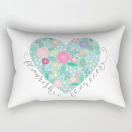 Flourish - Florecer Rectangular Pillow