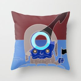 Late Surrender Throw Pillow