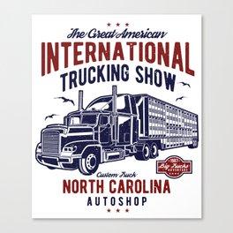 American International Trucking Show Canvas Print