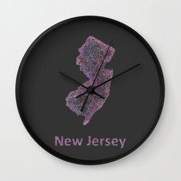 New Jersey Wall Clock