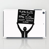 physics iPad Cases featuring Occupy Physics Class by acrossTPB