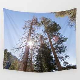 Mountainside Jeffrey Pine Trees (Lower Echo Lake, California) Wall Tapestry