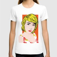 popart T-shirts featuring popart  by Biansa Naiyananont