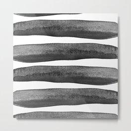 Black Rays Metal Print