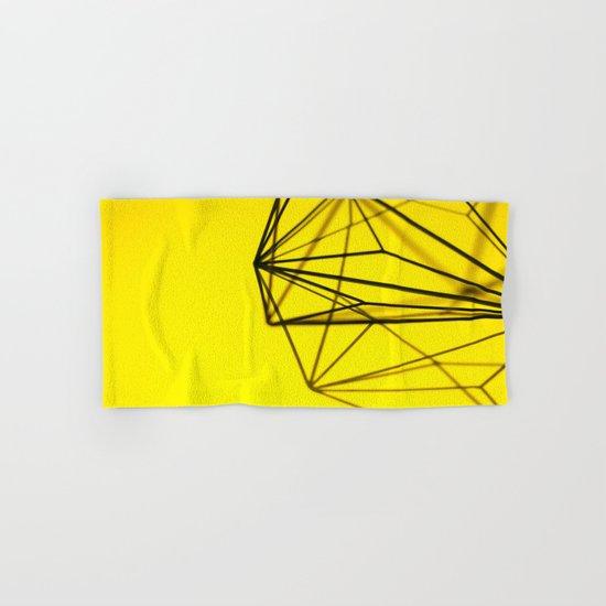 Yellow shape Hand & Bath Towel