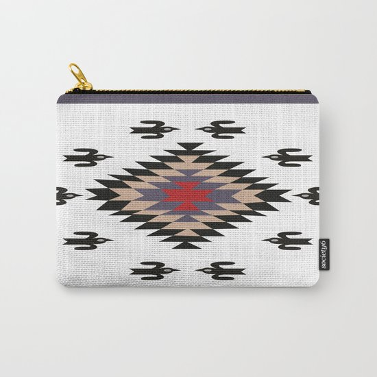American Native Pattern No. 23 Carry-All Pouch