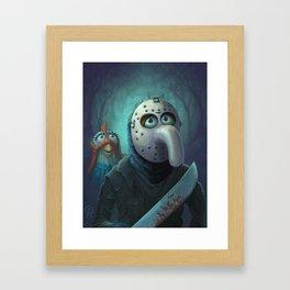 Muppet Maniac - Gonzo Voorhees Framed Art Print