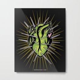 Corazon de Nopal // Noche Metal Print
