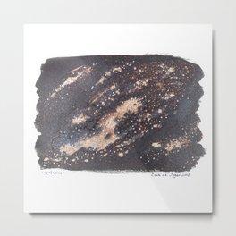 Galaxies Metal Print