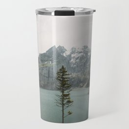 Lone Switzerland Tree - Landscape Photography Travel Mug