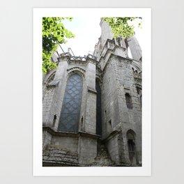 Chartres  Art Print