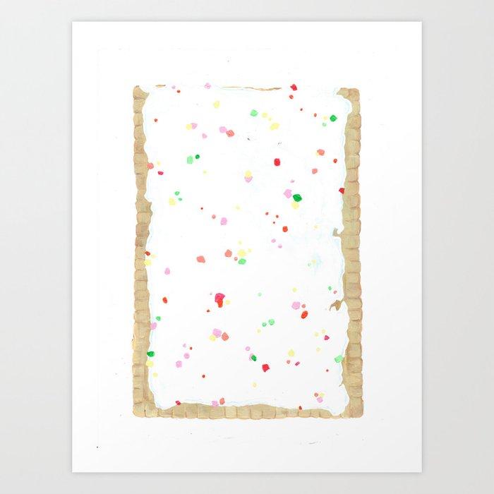 POP (t)ART Art Print