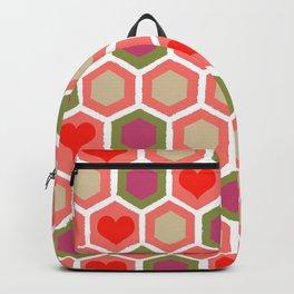 Heart Pattern 1 Backpack