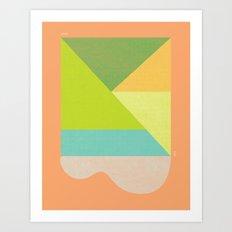 LINCOLN SLOAT SUN Art Print