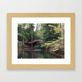 Crim Dell Bridge Framed Art Print