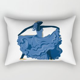 Flamenco Dancer 1 Rectangular Pillow