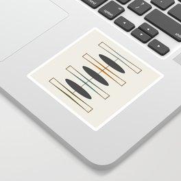 Mid-Century Modern 1.1 Sticker
