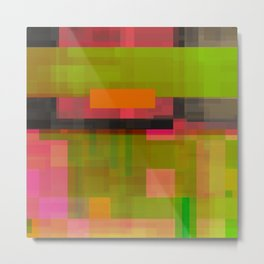 pinks beside greens Metal Print