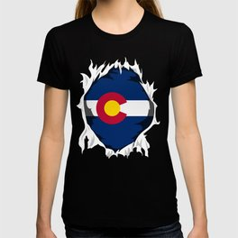 Colorado Jersey | Gift for Coloradan, CO Native Home State Flag T-shirt