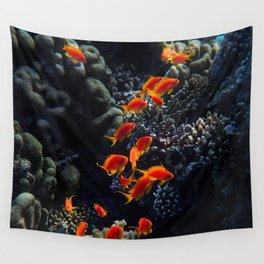 Sea Fier Wall Tapestry