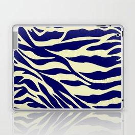 blue zebra Laptop & iPad Skin