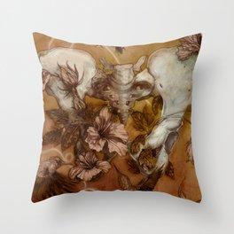 Infertile Throw Pillow