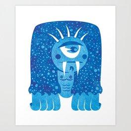 Monster #7 Art Print