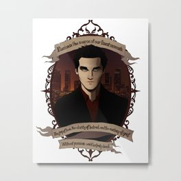 Angel - Angel/Buffy the Vampire Slayer Metal Print