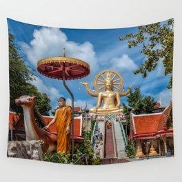 Big Buddha Temple Wall Tapestry