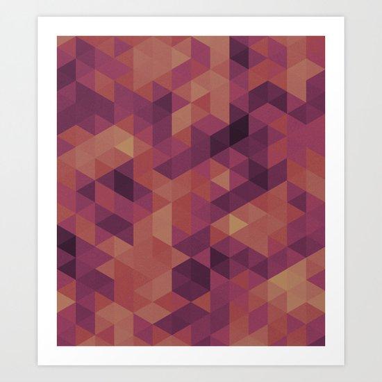 triangle 01 Art Print