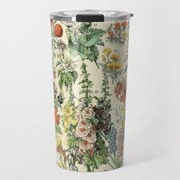 Adolphe Millot Vintage Fleurs Flower 1909 Travel Mug