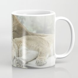 Sleeping Lions Coffee Mug