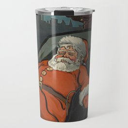 Vintage Santa Claus Preparing on Christmas Eve (1904) Travel Mug