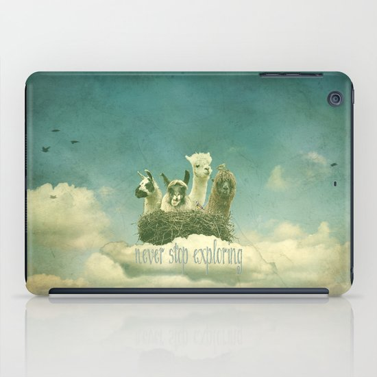 Never Stop Exploring iPad Case