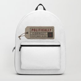 politically correct Backpack