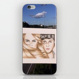 Paper Towns Drawing iPhone Skin