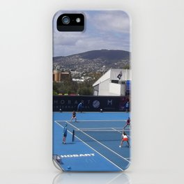 Hobart International 2014. WTA Tournament  iPhone Case
