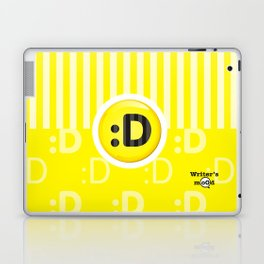 Yellow Writer's Mood Laptop & iPad Skin