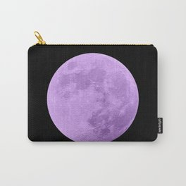 LAVENDER MOON // BLACK SKY Carry-All Pouch
