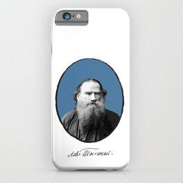 Authors - Lev Tolstoj iPhone Case