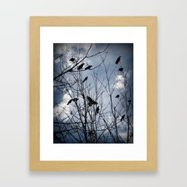 Gathering Framed Art Print