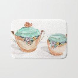 Sugar and Creamer Bath Mat