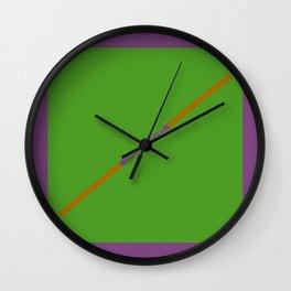 Cowabunga (Donatello Version) Wall Clock