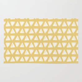 triangle pattern (4) Rug