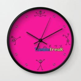 My Tumblefreak Wall Clock