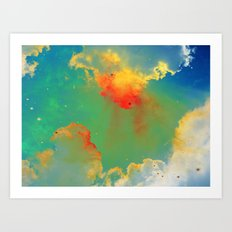 Goldfishes of the Universe Art Print