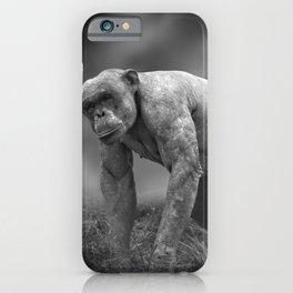 Jambo The Hairless Chimpanzee iPhone Case