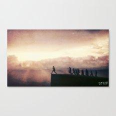 Follow The Leader Canvas Print