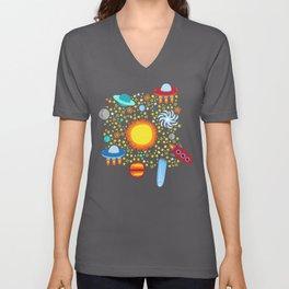 Crazy Cosmos Unisex V-Neck